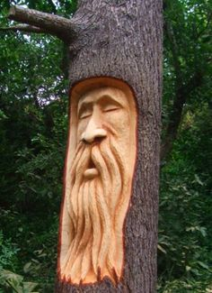 Woodworking Projects For Beginners .Woodworking Projects For Beginners Wood Carving Faces, Dremel Wood Carving, Simple Wood Carving, Tree Carving, Wood Carving Patterns, Wood Carving Art, Wood Art, Art Sculpture En Bois, Awesome Woodworking Ideas