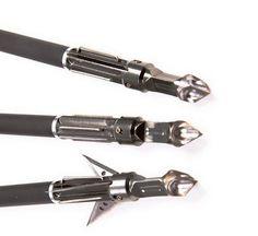 【NEW】OneTigris 3 Pack SMOKE Broadheads 100Grain 3 Blades Metal Arrow Head Hunting Archery Price:$30.39 & FREE Shipping