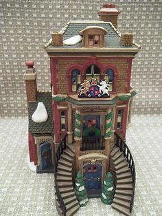 Dept 56 Dicken's Custom House - No Outer Box Christmas Village Houses, Christmas Villages, Dickens Village, Custom Homes, Clock, Box, Home Decor, Watch, Snare Drum