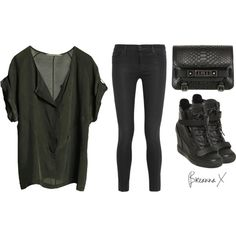 """""""Untitled #1605"""" by breannamules on Polyvore"""