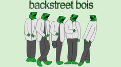 Backstreet Bois T Shirt By Shrenk Design By Humans