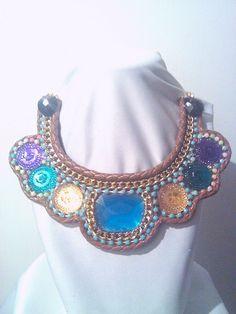 REFLEJOS..Collar hecho a mano @vanylcreation