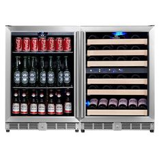 46 Bottle Triple Zone Built-In Wine Refrigerator