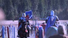 Count Richter vs. Sir Valeltine Live Joust hit 2014 Spokane Ren Faire