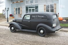 Dad's Truck = 1937 Chevy Paneled Truck