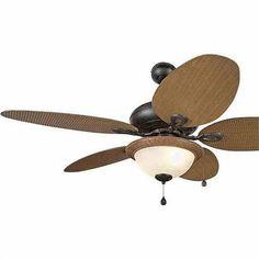 Harbor Breeze Outdoor Ceiling Fan @Barbara Whitlow Bills McAfee's. #outdoor