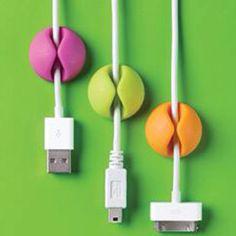No more messy cords