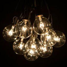 Solon 20 x 10 Rectangle Shade Sail Lantern String Lights, Patio String Lights, Globe Lights, Ceiling Lights, Light String, Concrete Footings, Patio Lighting, One Light, Christmas Lights