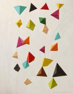 mode de boulangerie: DIY: Origami