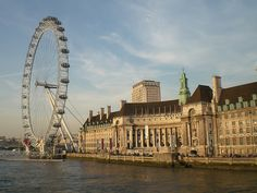 The London Eye offers spectacular views  even in the rain.  CIMG1115 by alflamont, via Flickr