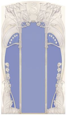 Art Nouveau Design, Design Art, Art Nouveau Mucha, Jugendstil Design, Belle Epoch, Art Nouveau Furniture, Art Through The Ages, Oeuvre D'art, Flower Art