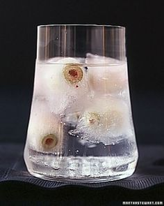 Eyeball Highballs - The perfect drink for monsters.