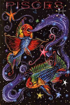 Pisces, Zodiac, Horoscope and Astrology Signs - Meanings, Pictures, Constellations and Astrological Symbols