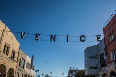 16 Fun Things You Can Do at the Venice Beach Boardwalk: Windward Avenue Entry to Venice Beach Boardwalk