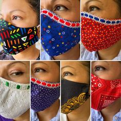 Adult Face Mask// Mascarilla para Adulto//Mola print// Panama/   Etsy