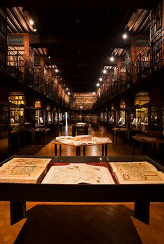 Beautiful Libraries... The Hendrik Conscience Library, Antwerp, Belgium, photo via dailytravelphotos.com