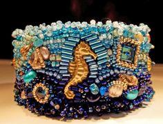 Cuff Seahorse Handmade by StoneForestJewels