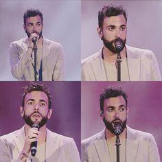 "Marco Mengoni by: @marco.mengoni.collages ""Scelgo sempre te #MarcoMengoni  #bellissimo  #bravissimo  #amore  #love  #OcchiGrandi  #BigEyes  #barba  #beard  #SoloDueSatelliti  #MTV  #MTVAwards  #Verona  #ArenaDiVerona  #TheBestSinger  #TheBestMusic  #MusicaItaliana  #ItalianMusic """