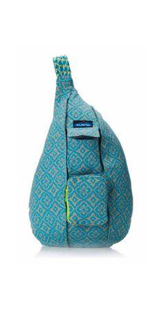 Kavu Rope Bag – Floral Mosaic | CrossRoads Online