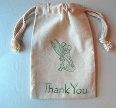 Tinkerbell Birthday Party Favor Bags / Set of by littlechicklets, $12.50