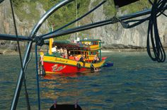 Local Turistboat in Thailand