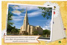 As Tontas Vão Ao Céu: Organização das Moças - Cartazes dos Templos com o Valor Virtude