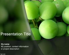 Wine powerpoint templates and backgrounds free green powerpoint green grape powerpoint template is a free ppt template for wine enthusiasts that you can download toneelgroepblik Gallery
