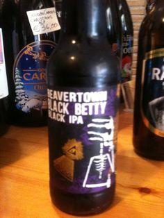 Black Betty ,Beaver Town, Black IPA, UK