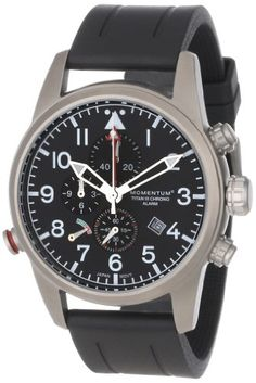 Men's Wrist Watches - Momentum Mens 1MSP32B1B Titan III Analog Alarm and Chronograph Watch * Continue to the product at the image link. (This is an Amazon affiliate link)