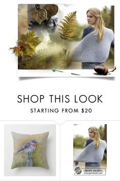 """""""Goodbye!"""" by canisartstudio ❤ liked on Polyvore featuring jewelry, woman, itemchallenge1 and OlaKnits"""