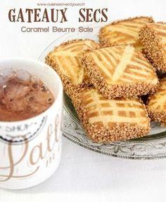 Gateaux secs algerien caramel beurre sale #gâteau #algeria #caramelbeurresalé