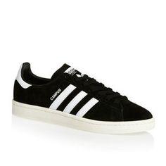 657f6334cf29 Adidas Originals Shoes - Adidas Originals Campus Shoes - Core  Black White Chalk White