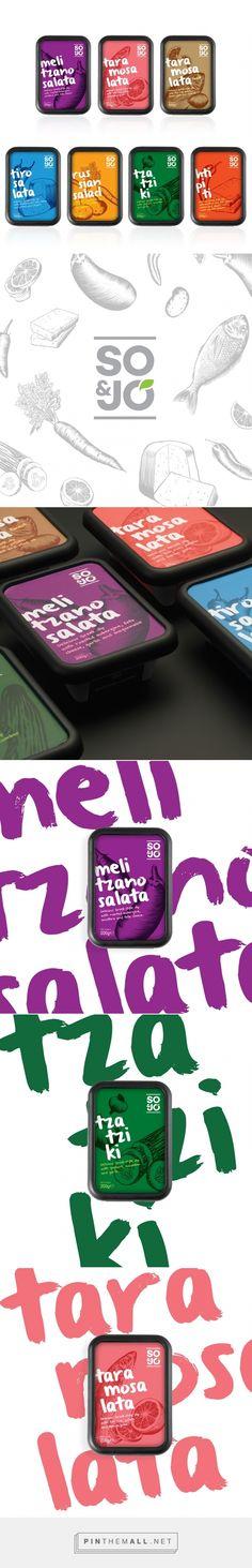 SO & JO Greek dips packaging design by 2yolk Branding & Design (Greece) - http://www.packagingoftheworld.com/2016/05/so-jo.html