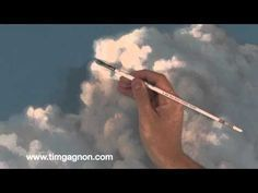 Painting clouds in oil or acrylic, tips tricks and techniques follow up video from Tim Gagnon Studio #OilPaintingTips