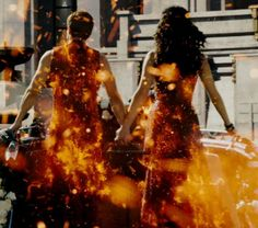 Catching Fire- parade costume