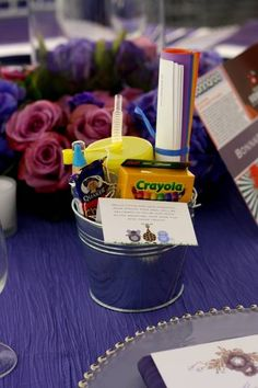 Favors to keep kids preoccupied at a wedding! www.bloomshoppe.com Or erin@bloomshoppe.com