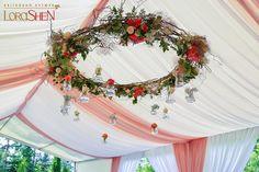 decorated event wreath
