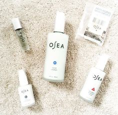 My absolute favorite skincare products!!!!!!! OSEA is the best!!!!!!