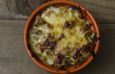Blissful Bacon Brussels Bake (Brussels Sprouts Au Gratin)