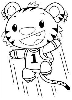 Ni Hao Kai-Lan Tegninger til Farvelægning 41