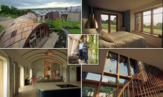 The design of Stephen and Elizabeth Tetlow's home in the Blackdown Hills was inspired by a fossil shell Stephen spotted on their kitchen table. Kevin McCloud likened it to a snake.