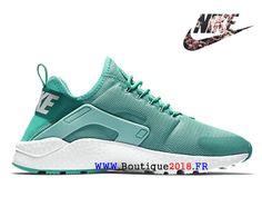 848ccd67f1a Chaussure de course Nike Air Huarache Ultra Breathe Pas Cher Femme Vert  819151 300-Nike Boutique