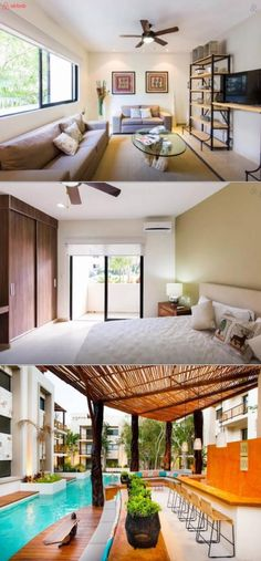 The architecture of this luxury vacation rental condo highlights the natural aspects of the magical region of Tulum. Just a 10 minute walk from the beach and downtown, you'll be well situated for the perfect tropical Mexico vacation.