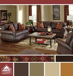 Rich Maroon Chocolate Hint Of Gold Dining Room ColorsDining