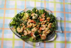 Shrimp Salad With Green Curry Dressing: