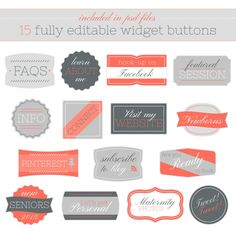 editable buttons