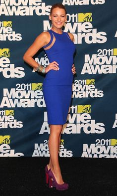Blake Lively in Michael Kors at the MTV Movie Awards