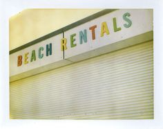 polaroid summer - beach rentals: from Jeff Gros