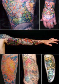 New school tattoos