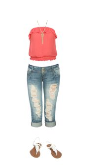 WetSeal.com Runway Outfit:  Girly Girl by Apdramagirl.